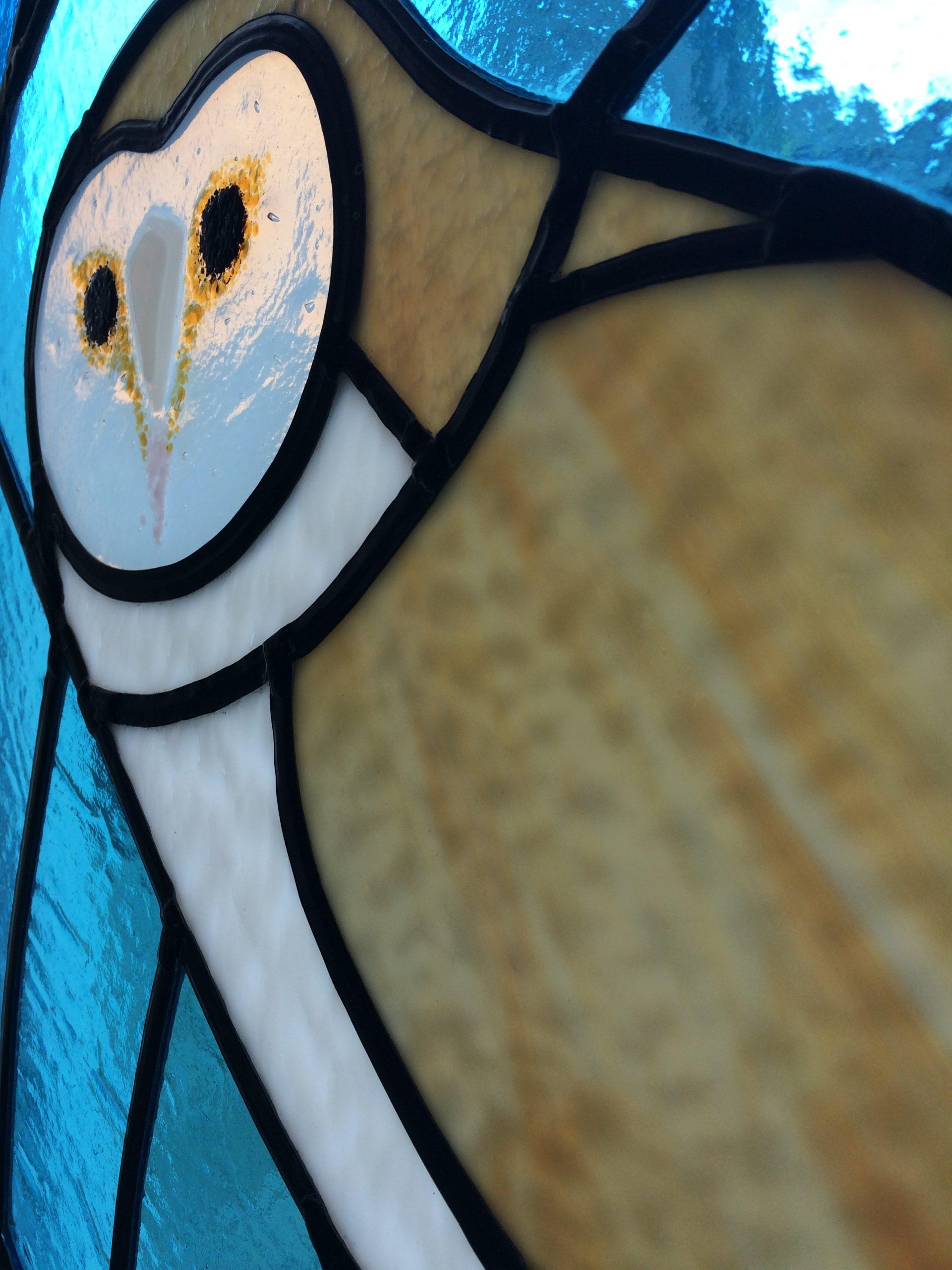 Kerkuil detail hoofd